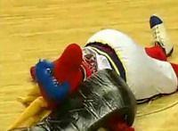 Смешные происшествия на спортивных матчах (видео)