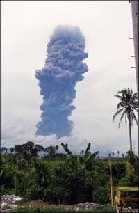 В Колумбии проснулся вулкан