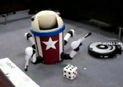 Push-kun – смешной самодельный робот (видео)
