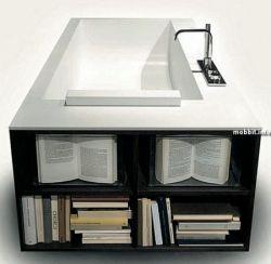 Ванны для книгоманов (фото)