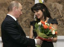 Кого россияне прочат в жены Владимиру Путину?