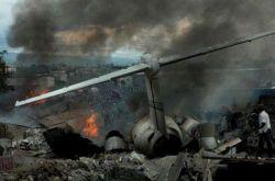 Авиакатастрофа в Конго (фото)