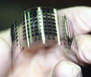 В Корее разработан гибкий модуль памяти