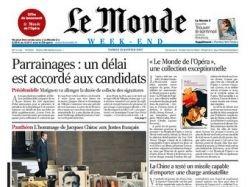 Газета Le Monde объявила вторую забастовку за неделю