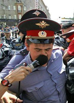 Забавная фотоподборка милиционеров (фото)