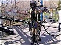 Американские ученые изобрели робота-солдата