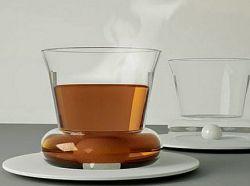 Концептуальные чашки, которые сами размешивают сахар