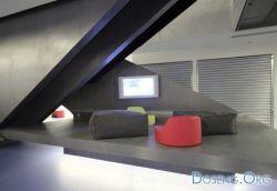 Дизайн нового офиса для компании Red Bull (фото)