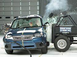 Subaru Forester получил высшую оценку в краш-тестах