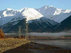 Лавины обесточили столицу Аляски