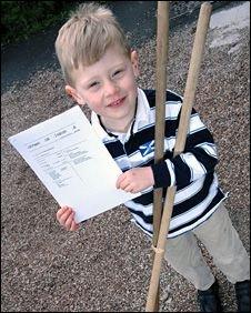 В Британии 5-летний мальчик получил патент на изобретение