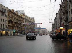 Участники акции протеста против милицейского беспредела перекрыли Тверскую