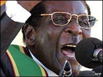 Президент Зимбабве обвиняет Великобританию