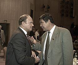 Аман Тулеев отсудил у Геннадия Зюганова честь и достоинство