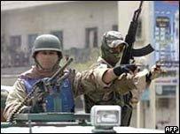 Новые стычки солдат и боевиков в Басре