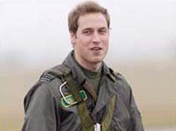 Принц Уильям посадил пилотируемый им военный вертолет в саду своей подруги