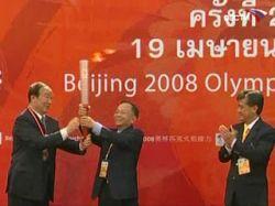 Олимпийский огонь пронесут по Куала-Лумпуру