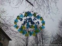 Креативные украшения из пластиковых бутылок (фото)