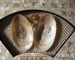 В Китае вырастили мидий с эмблемой Олимпийских игр