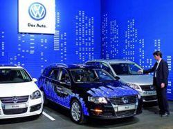 Компания Volkswagen научила машины парковаться без водителя