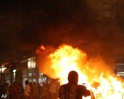 В Греции сожжено несколько автосалонов