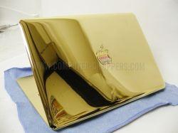 MacBook Air покрыли золотом и драгоценностями