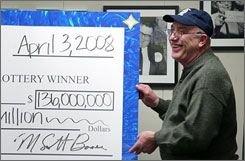 Рабочий выиграл в лотерею $136 миллионов