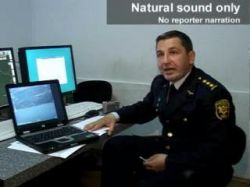 Российский истребитель сбил грузинский самолет (видео)