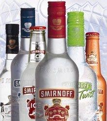 Самым популярным алкогольным брендом в мире названа водка Smirnoff