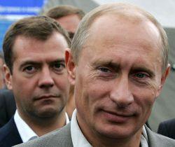 Владимир Путин и Дмитрий Медведев – персонификация надежд