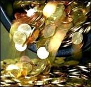 В Германии инкассаторы потеряли мелочь на 10 тысяч евро