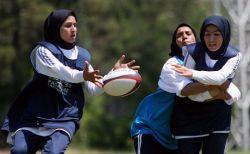 Иранский чемпионат по женскому регби (фото)
