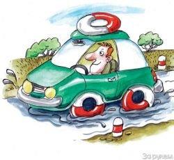 Что делать, если попали в аварию из-за неудовлетворительного состояния дорог и улиц?