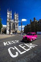 """Лондон пересаживается на \""""зеленые\"""" такси"""