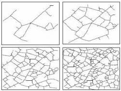 Физики смоделировали развитие городской дорожной сети