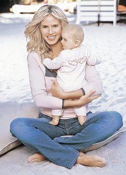 Как известные мамы худеют после родов