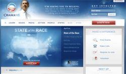 """Хакеры \""""потрудились\"""" над сайтом Барака Обамы"""