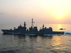 Немецкий фрегат спас японский танкер от пиратов
