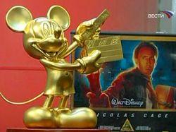 Японцы сделали золотого Микки Мауса