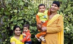 Сын самой высокой женщины в Азии в свои 10 месяцев весит 22 кг