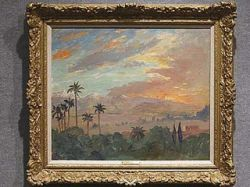 """Картина Уинстона Черчилля \""""Закат над горами Атлас\"""" ушла с молотка за 420 тысяч долларов"""