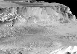 Марсианские ледники опровергли гипотезу ученых