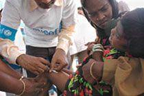 В Индии четыре ребенка умерли после прививок от кори