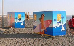 Пляжную кабинку оценили в $140 тыс