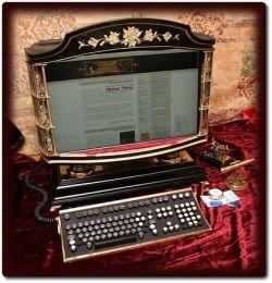 Компьютер в стиле стимпанк от дизайнера Джейка фон Слатта