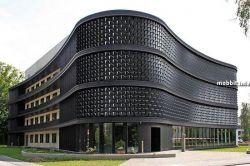 Flare – интересная система для фасадов зданий (видео)