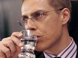 Министр иностранных дел Финляндии Александер Стубб признался в контрабанде русской водки