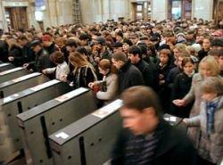 Территория Москвы составляет 0,006% территории страны, но живет здесь 9% россиян