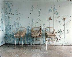 Чернобыль - заброшенный город (фото)