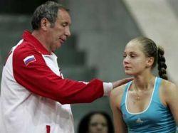 Сборная России по теннису выиграла первый матч в полуфинале Кубка Федерации